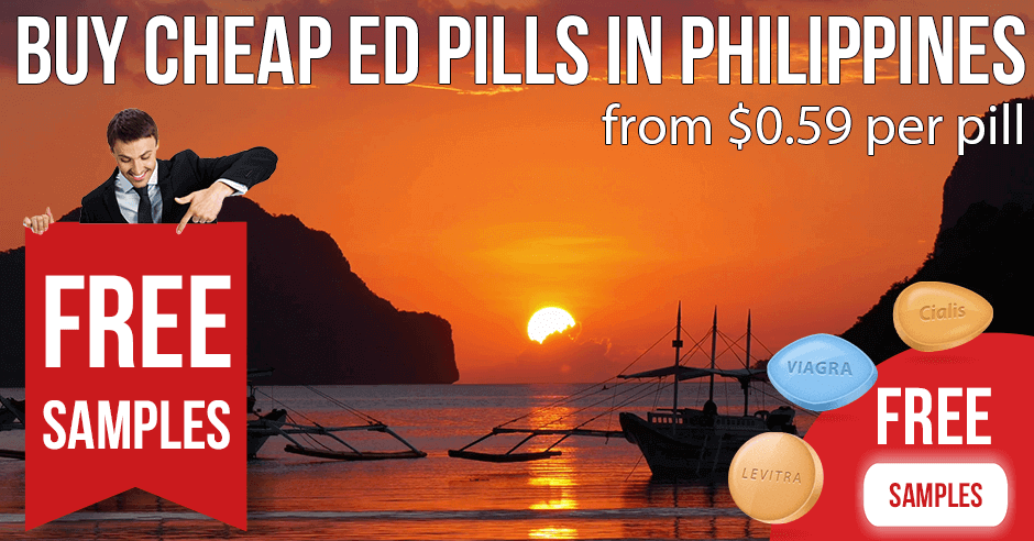 Buy Cialis and Viagra over-the-counter in the Philippines