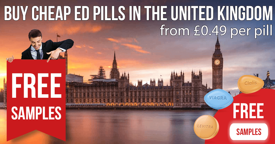Buy Viagra, Cialis and Levitra in the United Kingdom
